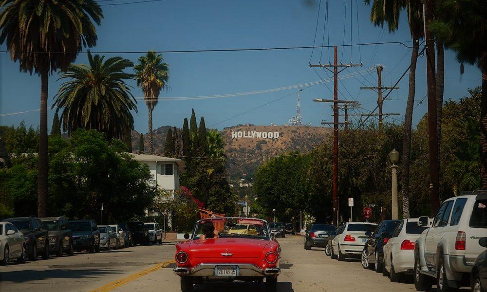 Hollywood- uno dei viali di Los Angeles