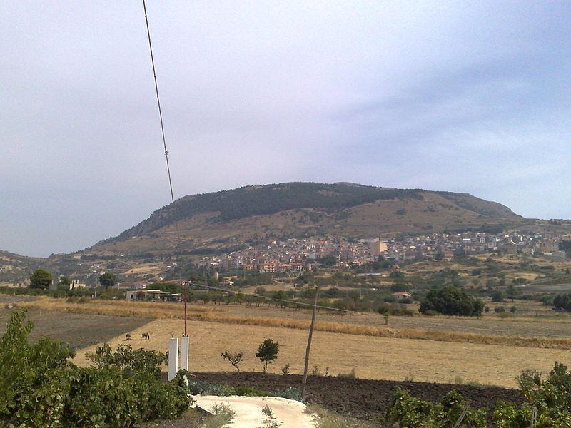 veduta di Bisacquino