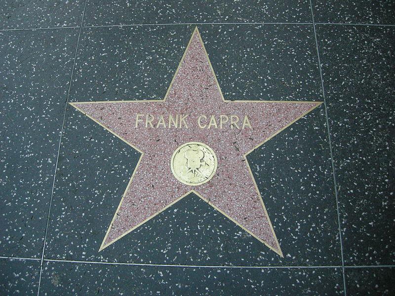 Stella dedicata a Frank Capra