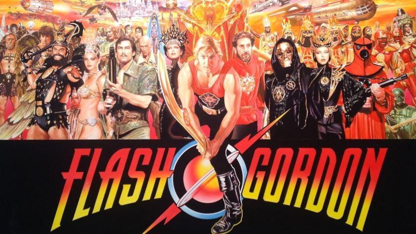 locandina di flash gordon