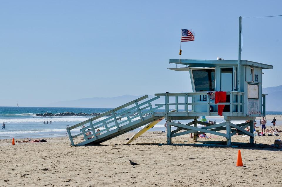 Heather Parisi -   Spiaggia californiana