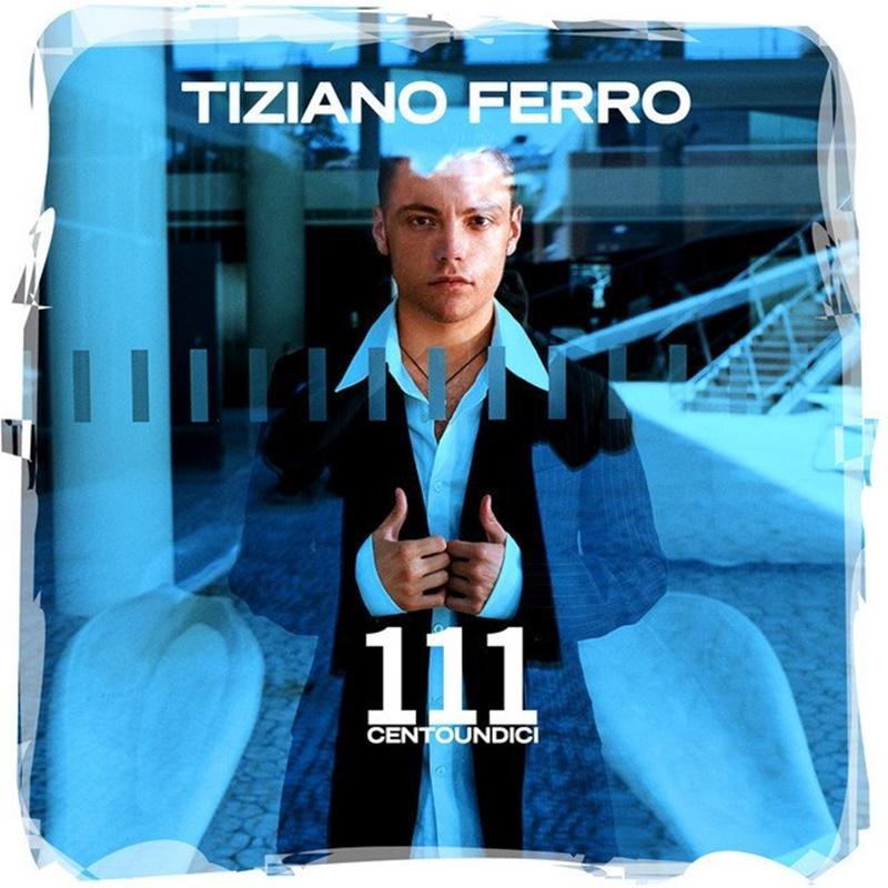 Tiziano Ferro - copertina del primo disco