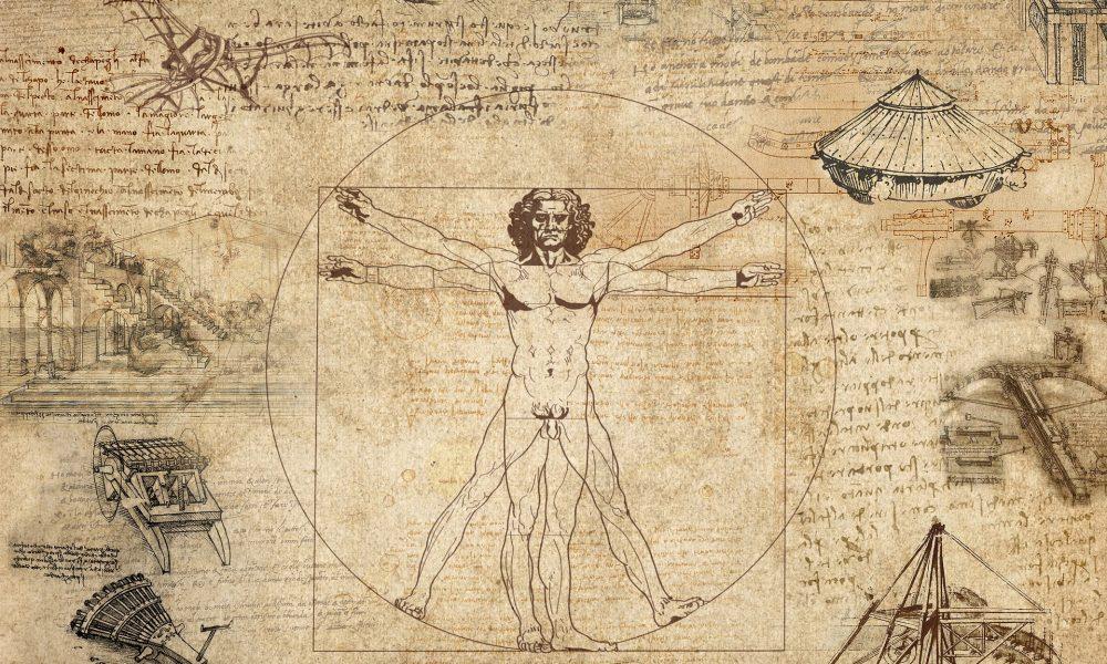 Leonardo da Vinci. Uomo Vitruviano