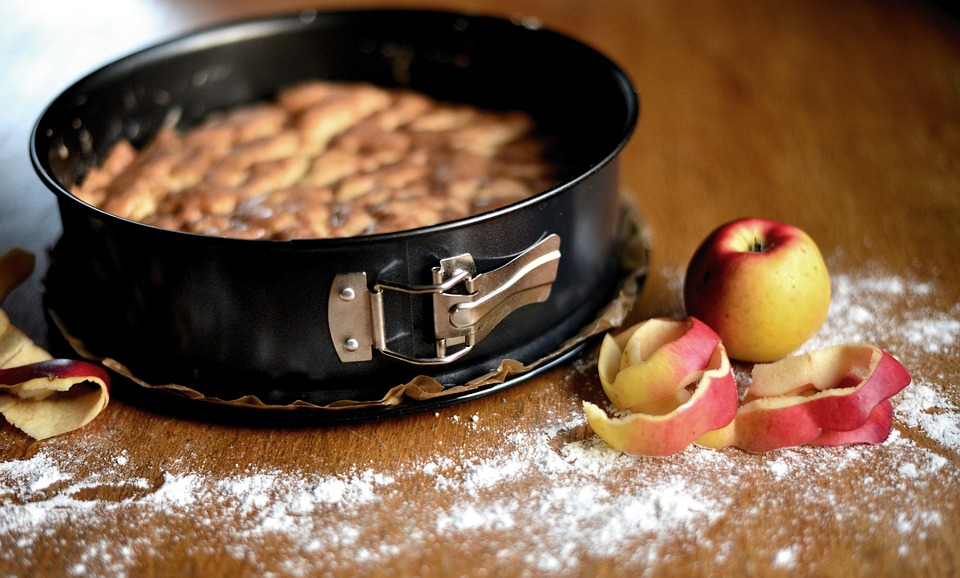 La torta di mele - Tortina nella tortiera