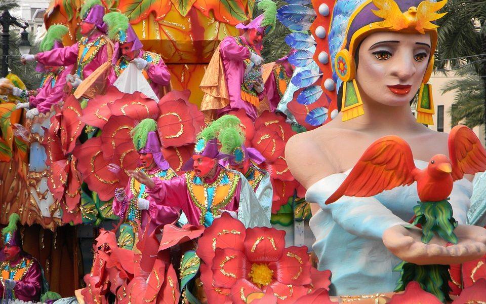 carnevale a los angeles - carri durante la parata
