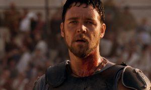 Il Gladiatore: russel crowe nel film montato da Pietro Scalia