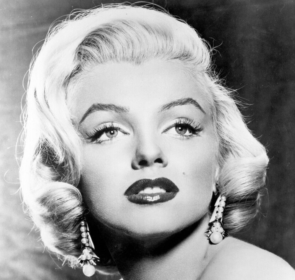 Ritratto fotografico di Marilyn Monroe