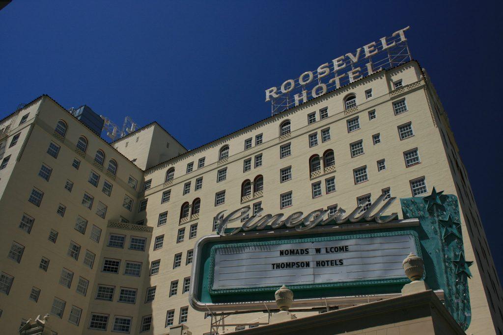Prospetto del Roosevelt Hotel