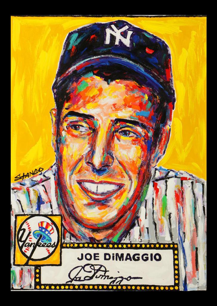 Joe DiMaggio - Figurina del campione