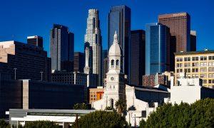 Il Coronavirus in U.S.A.- Los Angeles City in una foto