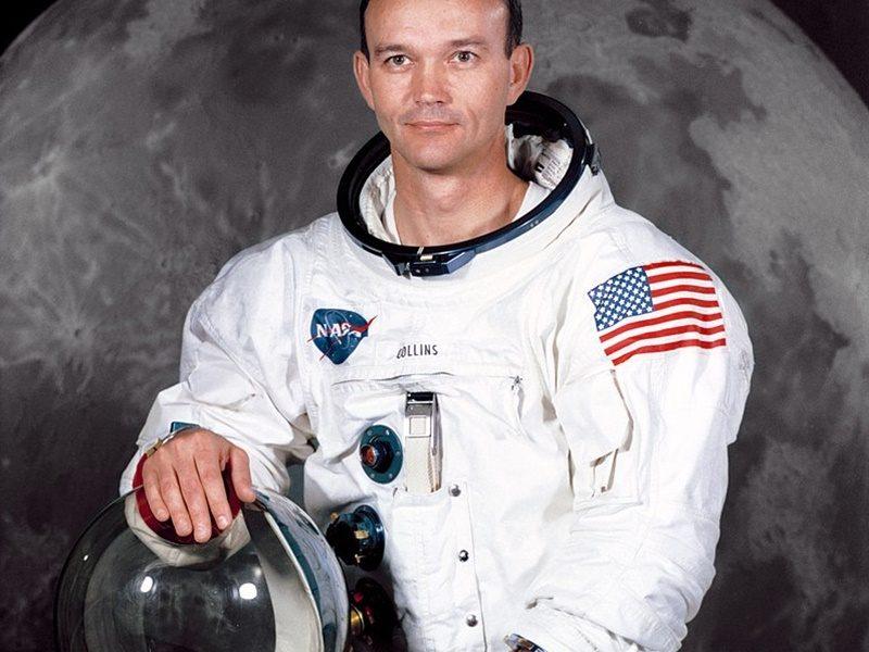 michael Collins - l'astronauta in posa