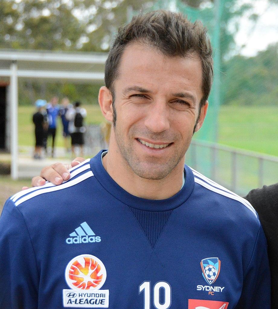 Immagine del calciatore alessadnro Del Piero