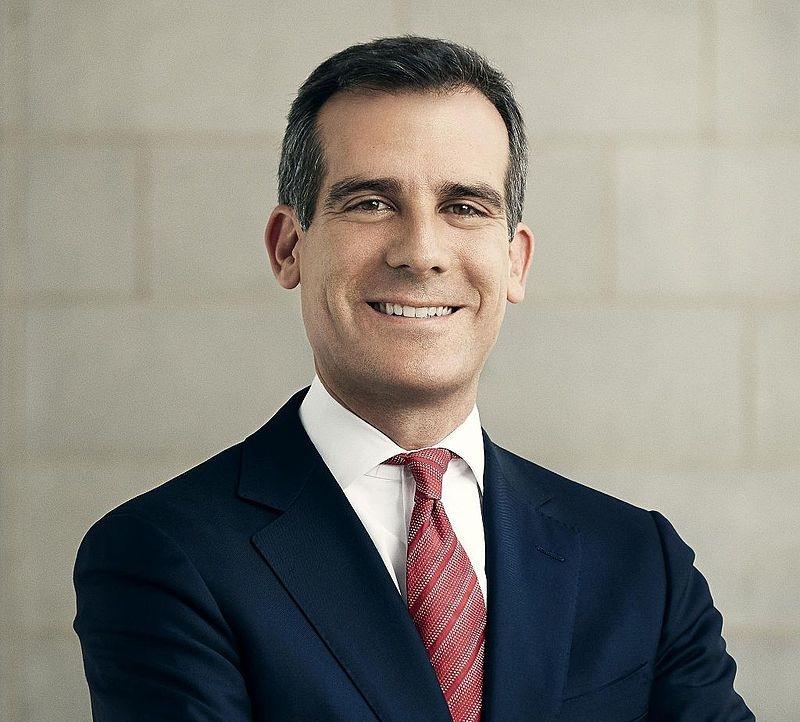 Eric Garcetti - il sindaco di Los Angeles