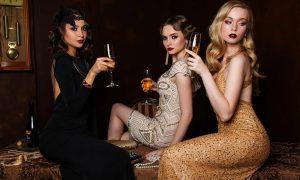 Luciana Cometti - Moda Italiana con tre modelle