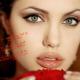 Angelina Jolie - un primo piano della diva americana