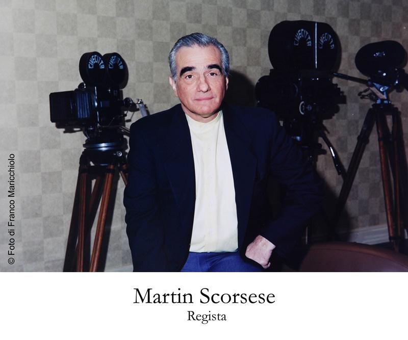 Franco Maricchiolo - Martin Scorsese fotografato da MAcchiolo
