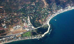 Malibu - veduta all'alto