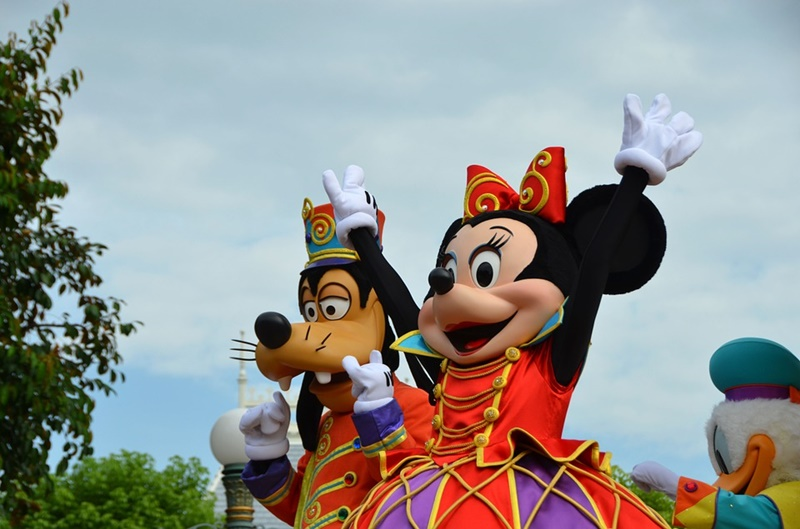 Disneyland  - minnie e Pippo