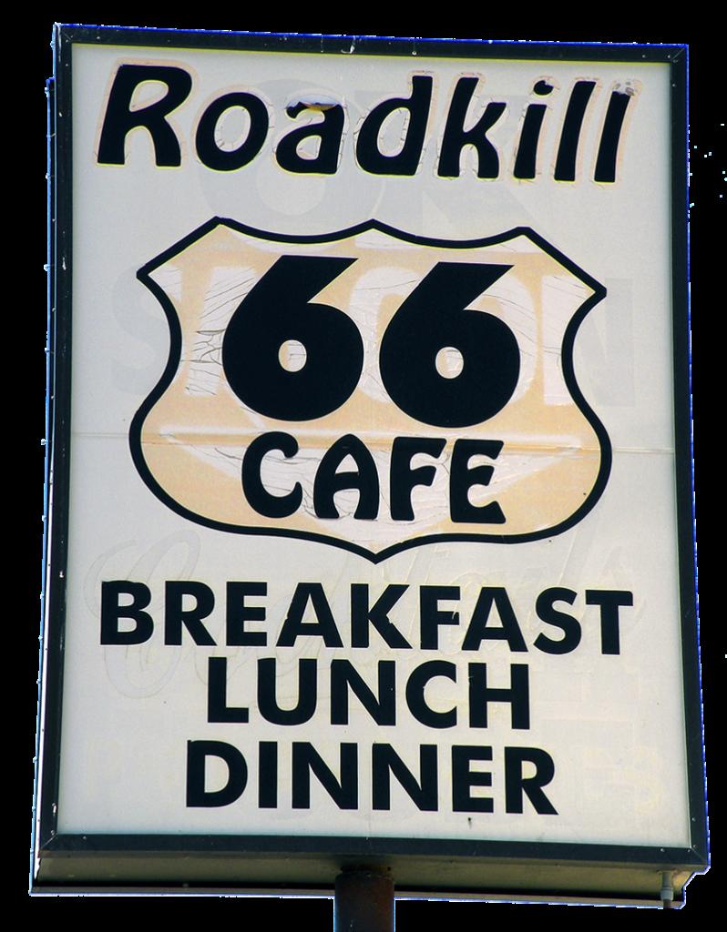 Route 66 - insegna di Motel