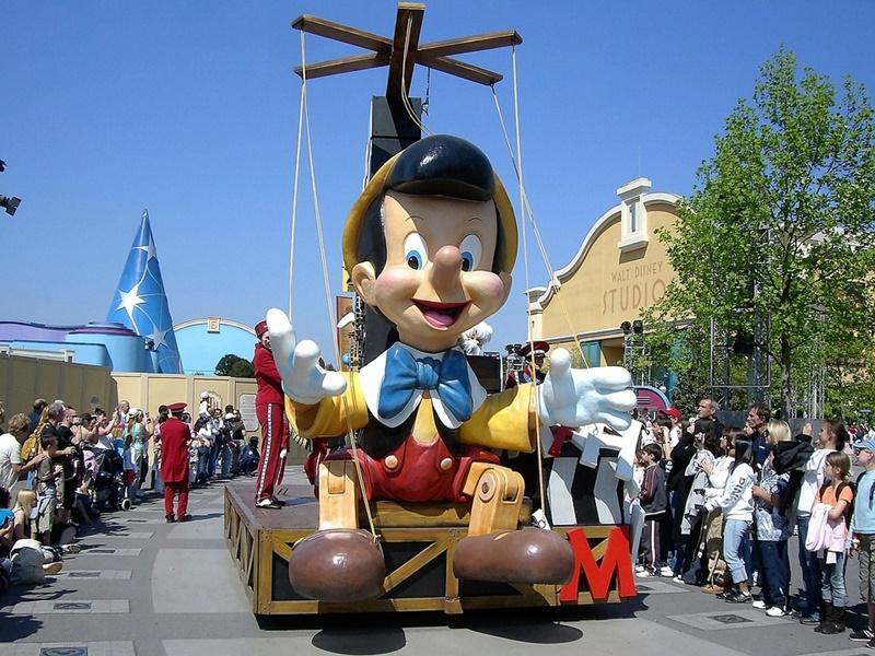 Disneyland  - Pinocchio durante la parata