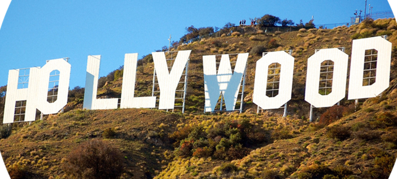 Hollywood - Scritta Nel Dettaglio