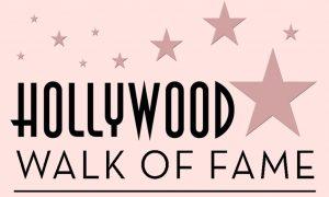 La Walk of Fame - Scritta Rosa della nota strada