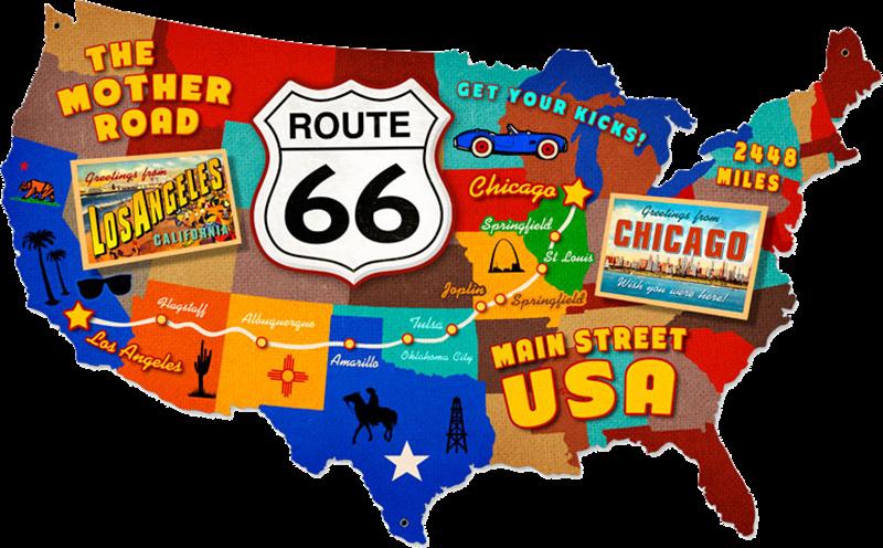 Route 66 - immagine degli Stati Uniti
