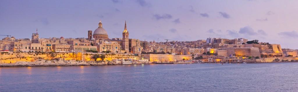 Cosa vedere a Sliema - vista di Valletta da Tignè Point