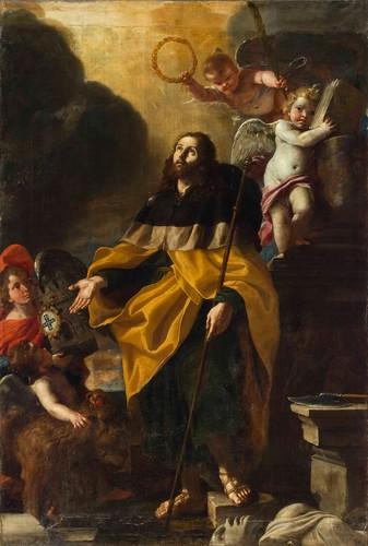 Dipinto di Mattia Preti custodito presso la cattedrale di San Giovanni, La Valletta