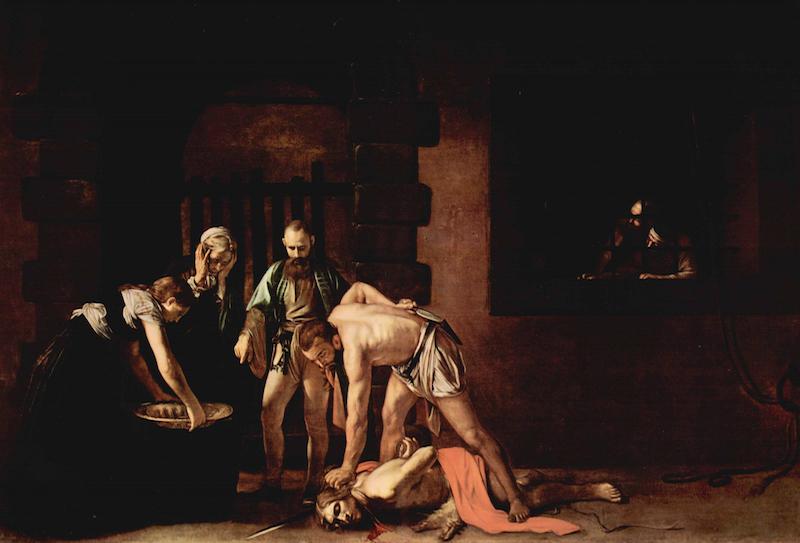 La Decollazione di San Giovanni Battista, di Caravaggio