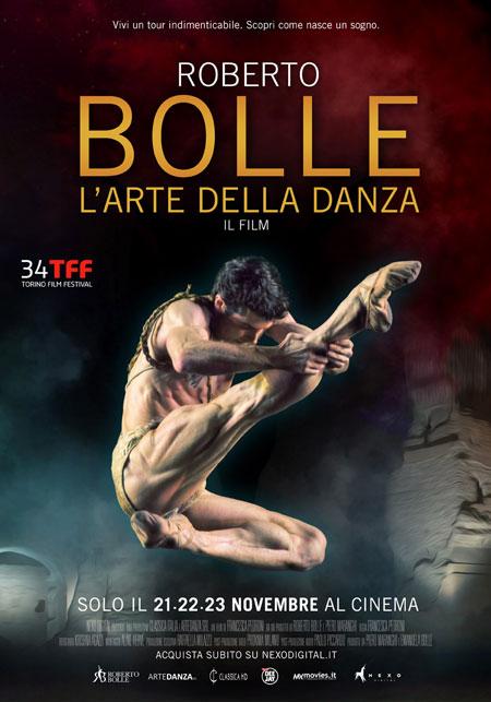 """Roberto Bolle, meraviglioso nella locandina del film """"l'Arte della Danza"""""""
