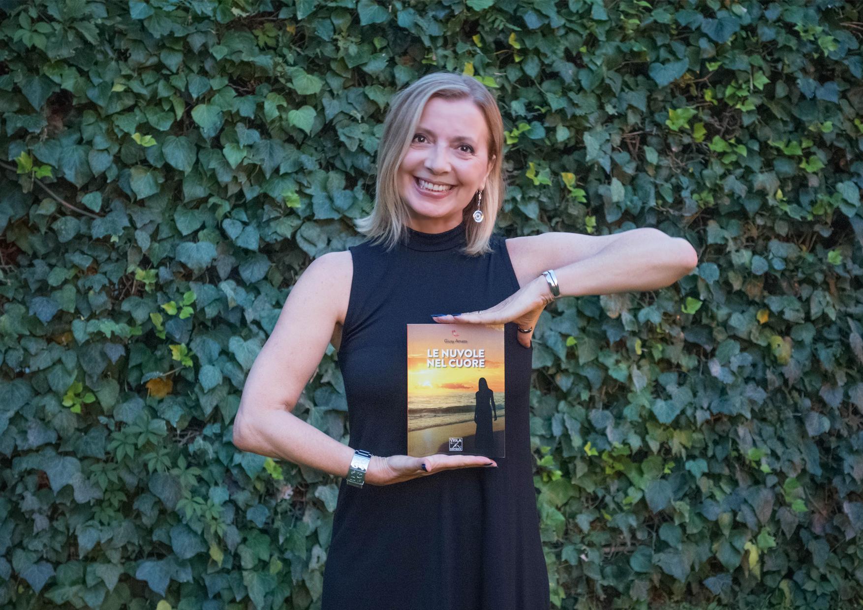 La presentazione di Giusy Amato e del suo straordinario libro le nuvole nel cuore