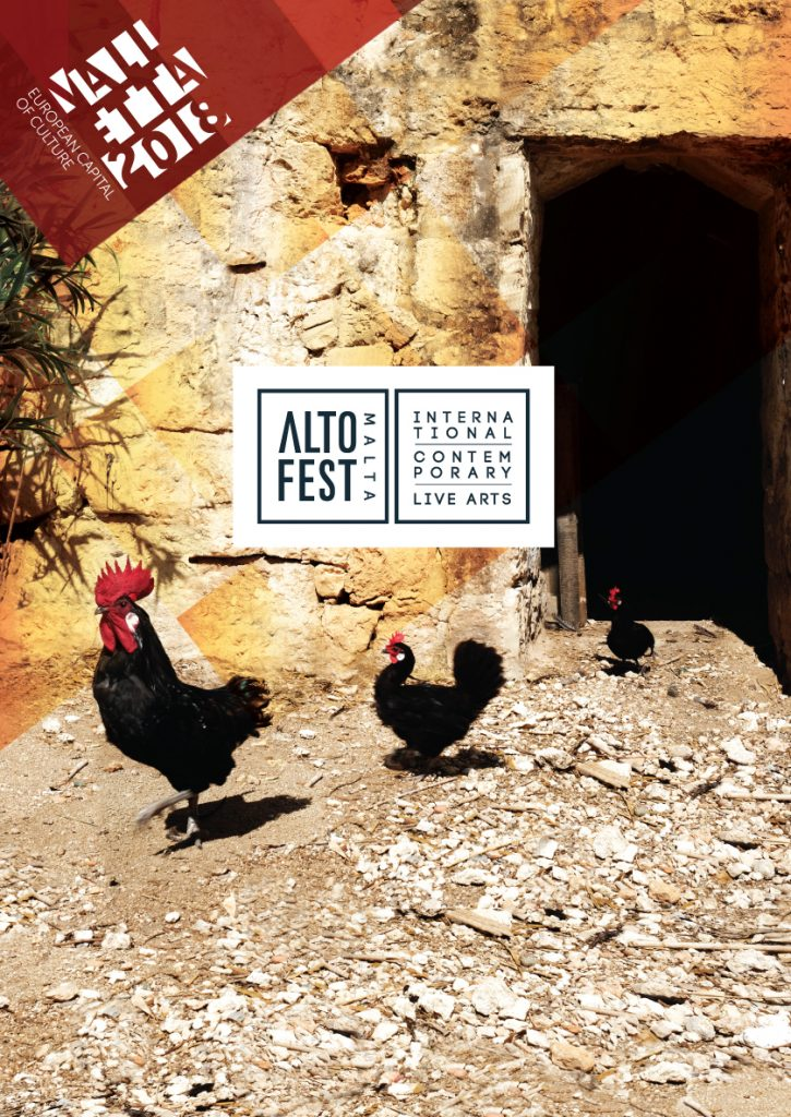 Locandina Altofest Malta 2018, credits: treatringestazione.com