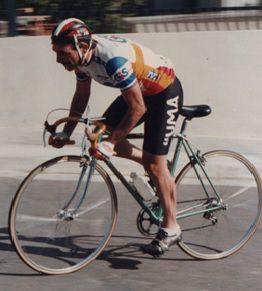 Efrem Noli in bici, parlerà de Il Giro d'Italia