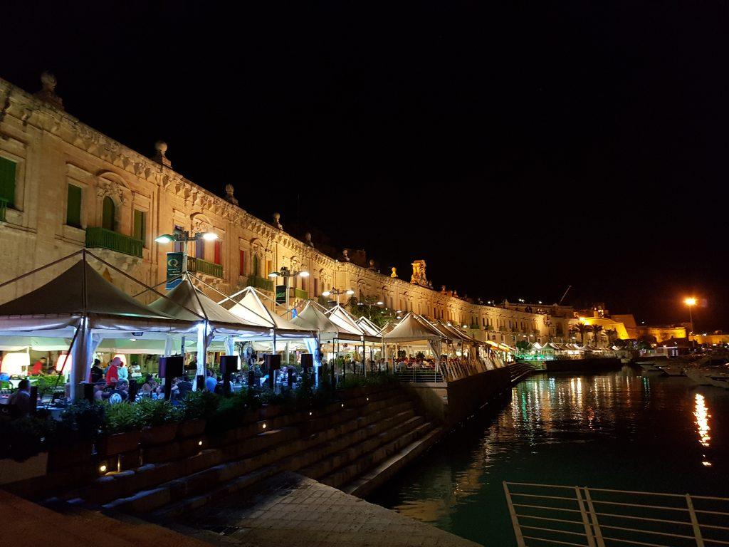 I colori del Valletta Waterfront