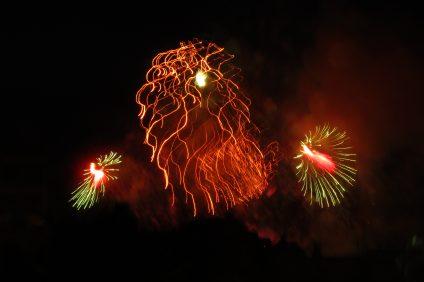 I fuochi d'artificio a Malta
