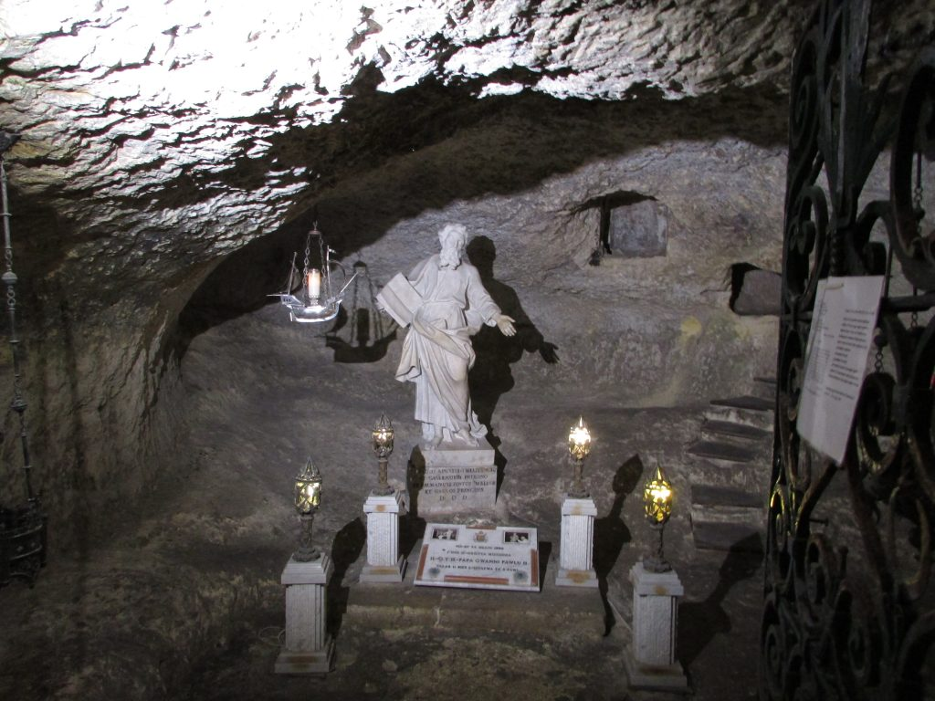 Ingresso St Paul Grotto