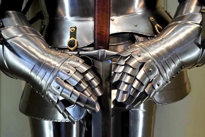 Medieval Mdina 2018, armatura medievale