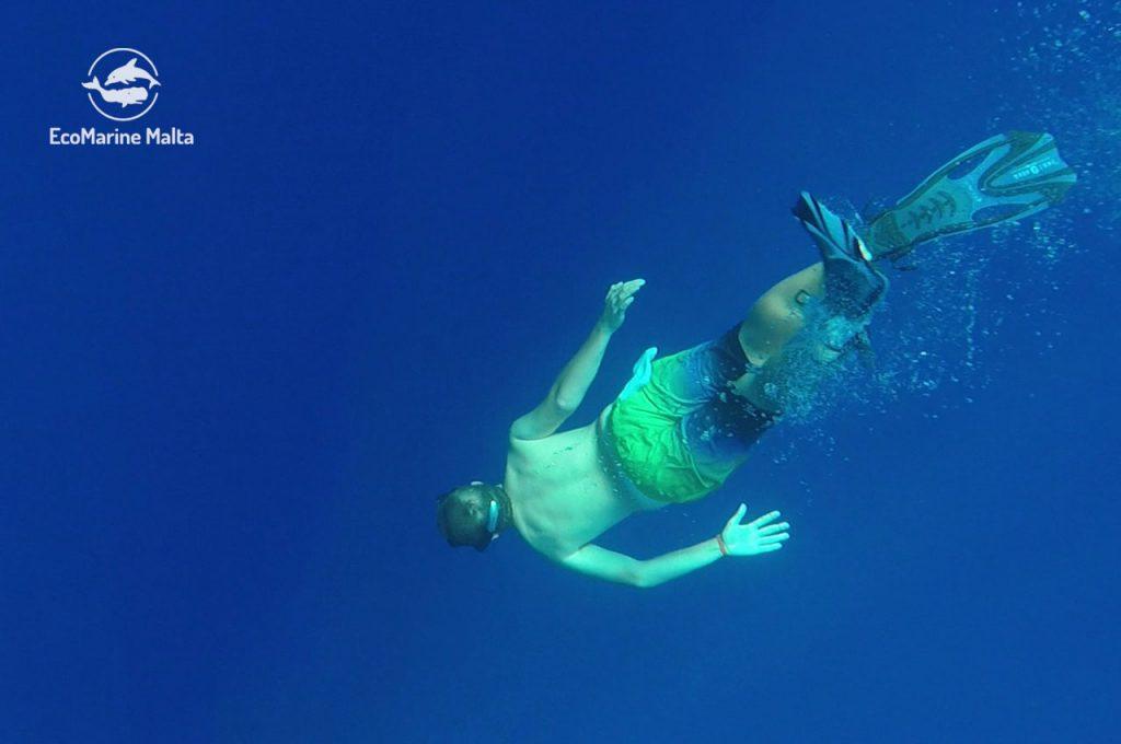 il mare in profondità