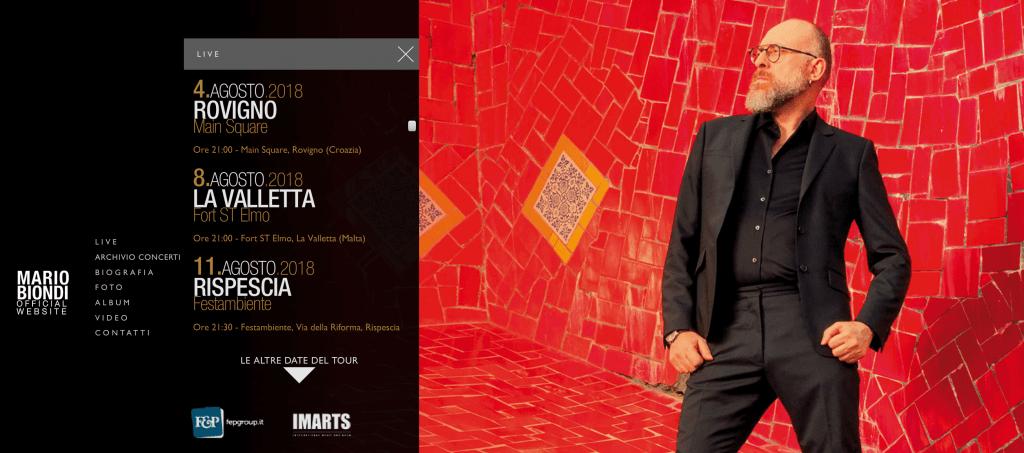 Mario Biondi a Malta, le date