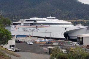 nuovo catamarano San Giovanni Paolo II