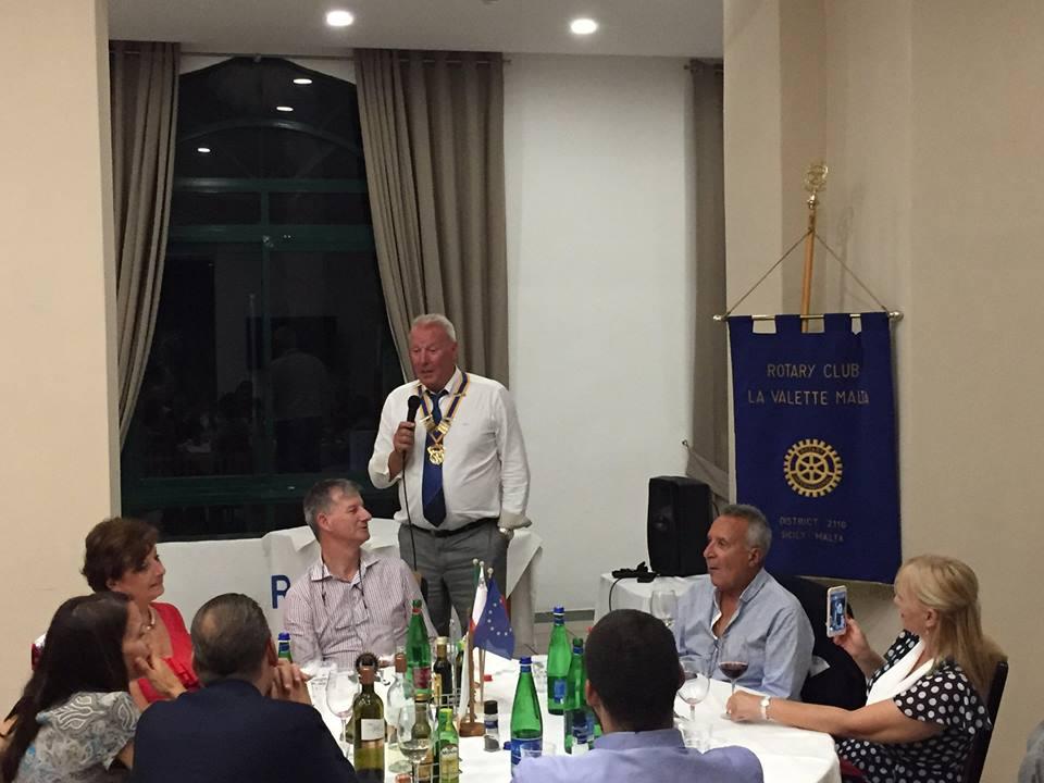 Rotary Club-La Valette Malta