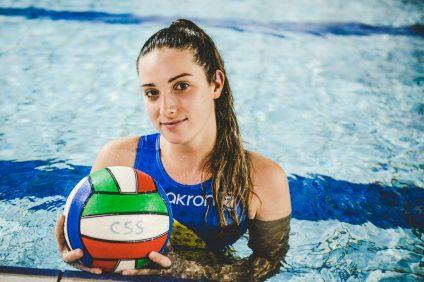 Elena Borg campionessa di pallanuoto