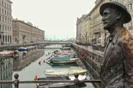 James Joyce a Malta- monumento dell'autore