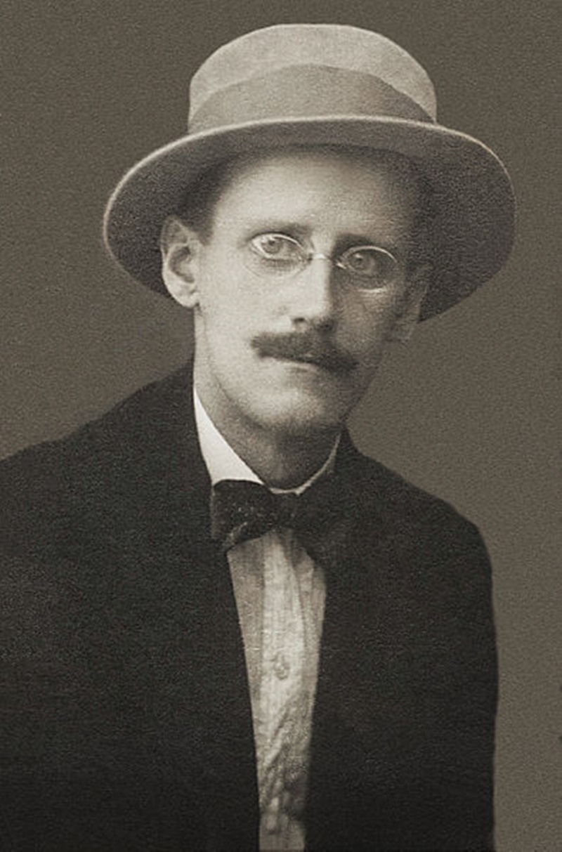 James Joyce a malta- foto giovanile