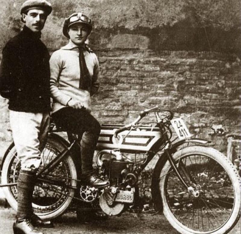 vittorina sambri- campionessa di motociclismo