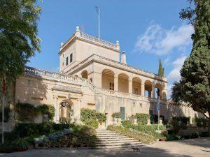 ingresso di Palazzo Verdala