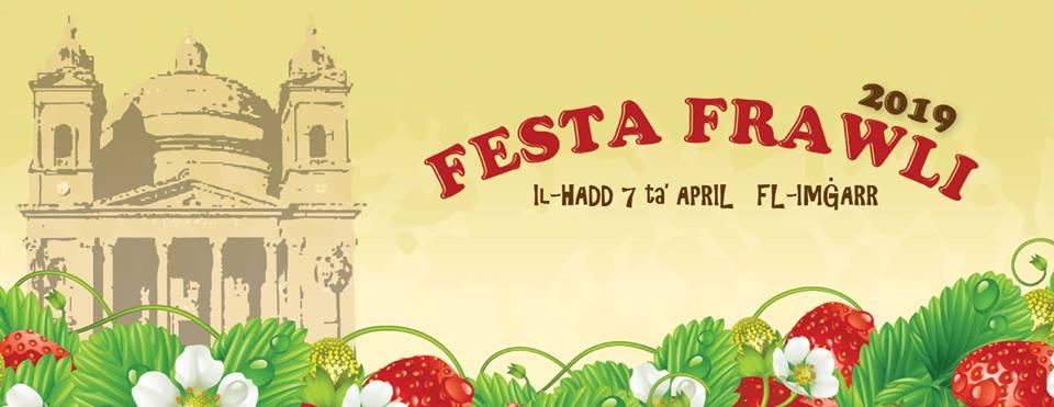 Logo della Festa Frawli 2019