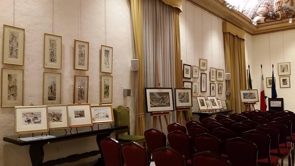 istituto italiano cultura - esposizione di quadri