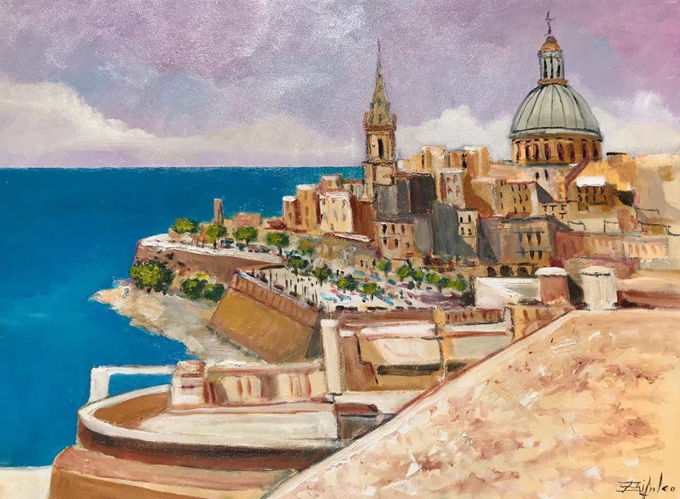 Claudio bifulco - panorama de La Valletta